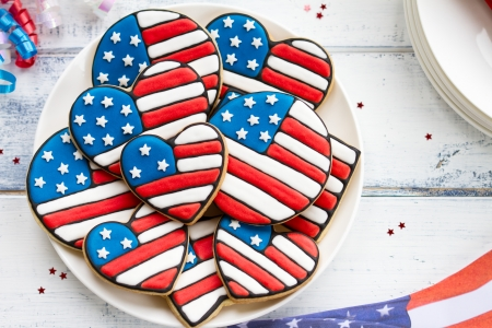 Patriotic cookies photo