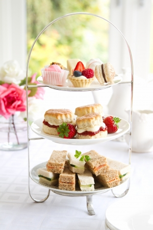 Afternoon tea photo