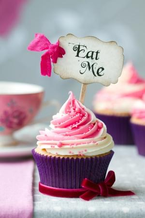 cake pick: Cupcake  Stock Photo