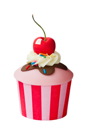 ice cream sundae: Ice cream sundae cupcake