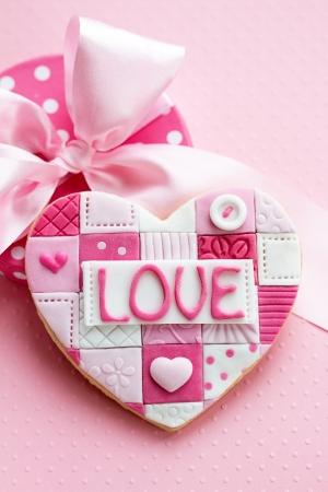 Día de San Valentín de la galleta