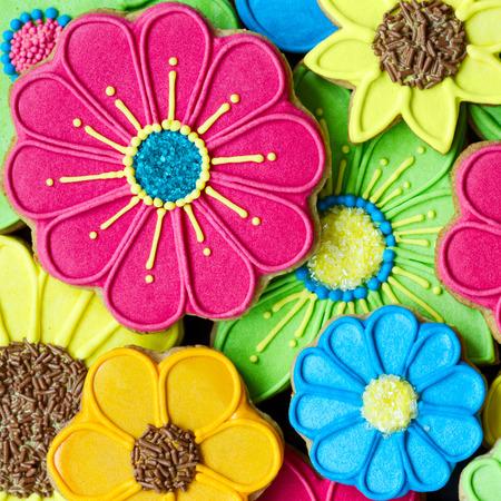 花のクッキー 写真素材 - 25814010