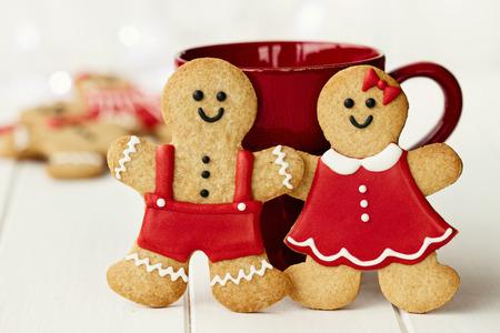 Gingerbread paar