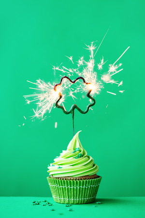 Cupcake to celebrate St Patricks Day
