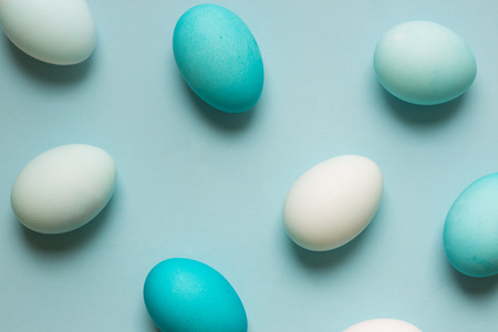 ombre: Ombre Easter egg background Stock Photo