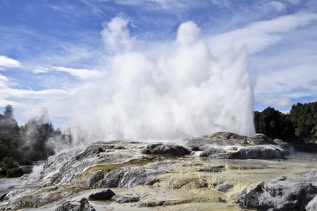 Te Puia Geyser - Rotorua, New Zealand