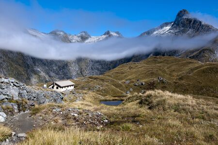 mackinnon: Milford Track - Looking towards the Clinton Valley