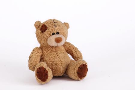 クマ。柔らかいおもちゃ 写真素材