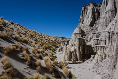Rock formation near Salar de Uyuni, Boliva