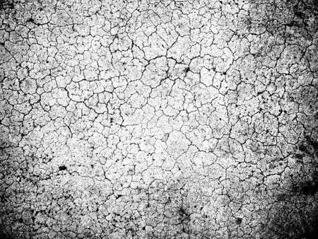 Dark Messy Dust Overlay Distress Background. Black And White Urban Vector Texture Template. 写真素材