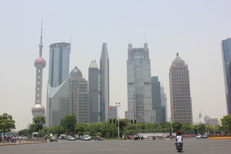 pudong district: Shanghai Pudong district