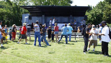 HAMPTON, VA-JUNE 9:The HCS Car Show raffle at the 3rd annual HCS car show at the Hampton Christian School in Hampton Virginia, 2012 in Hampton Virginia on June 9, 2012.