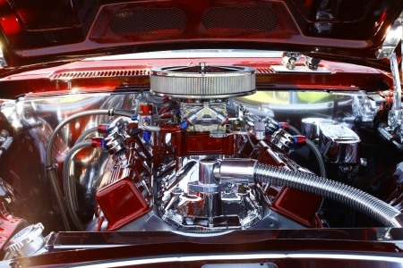 HAMPTON, VA-JUNE 9:A 1969 Chevy Camaro at the 3rd annual HCS car show at the Hampton Christian School in Hampton Virginia, 2012 in Hampton Virginia on June 9, 2012. 新闻类图片