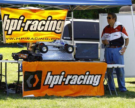 HAMPTON, VA-JUNE 9:Hpi racing at the 3rd annual HCS car show at the Hampton Christian School in Hampton Virginia, 2012 in Hampton Virginia on June 9, 2012. Editorial