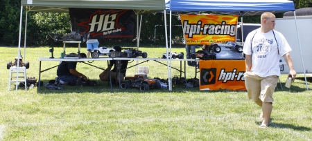 HAMPTON, VA-JUNE 9:Hpi racing at the 3rd annual HCS car show at the Hampton Christian School in Hampton Virginia, 2012 in Hampton Virginia on June 9, 2012.