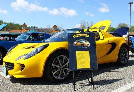 GLOUCESTER, VA- APRIL 13:05 Lotus Elise in the Daffodil car show sponsored by the MPCC(middle peninsula car club)at the Main St shopping center in Gloucester, Virginia on April 13, 2013 Stock Photo - 19235665