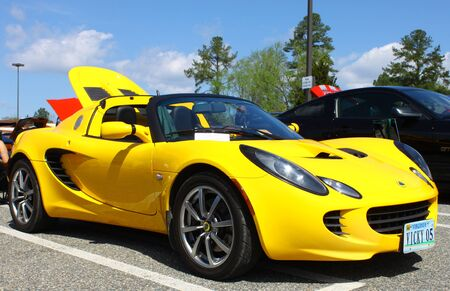 GLOUCESTER, VA- APRIL 13:05 Lotus Elise in the Daffodil car show sponsored by the MPCC(middle peninsula car club)at the Main St shopping center in Gloucester, Virginia on April 13, 2013 Stock Photo - 19235656