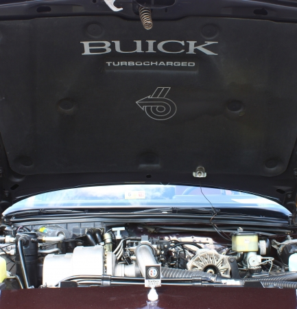 GLOUCESTER, VA- APRIL 13:A Buick Regal engine in the Daffodil car show sponsored by the MPCC(middle peninsula car club)at the Main St shopping center in Gloucester, Virginia on April 13, 2013 Editorial