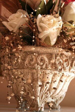 Dry beautiful flowers in a nice vase. Stock Photo - 1675507