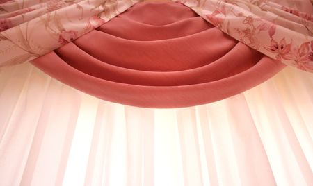Picture of luxurious curtains at home. Stock Photo - 4515744