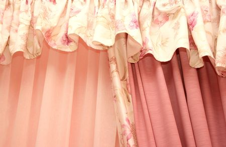 Picture of luxuus curtains at home. Stock Photo - 4681910