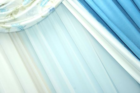 Picture of luxurious curtains at home. Stock Photo - 4718856