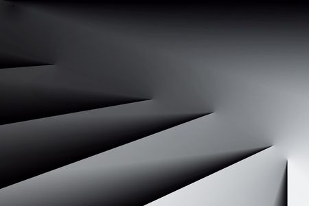 modern illustrations: Abstract stairs to the darkness.