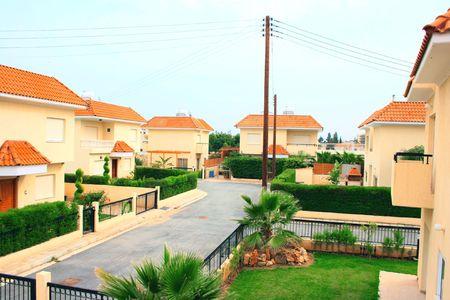 residental: Houses in new residental area.