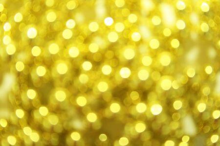 Christmas yellow light background. Stock Photo - 5833637
