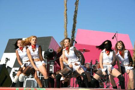 credo: LIMASSOL,CYPRUS-JUNE 7:Modern dancers group Credo in Cypriot-Russian festival June 7, 2008 in Limassol,Cyprus.