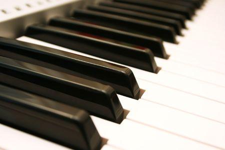 Part of professional keyboard. photo