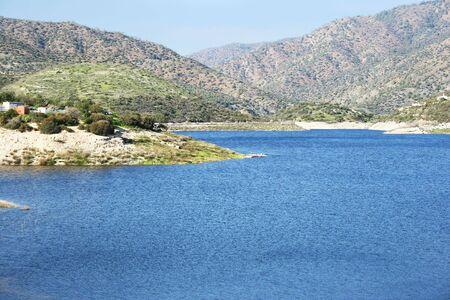 Mountain lake in Cyprus. photo