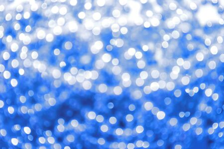 Holiday spotted blue background. Stock Photo - 8299705