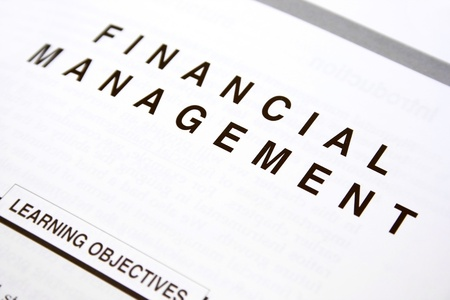 Financial document, learning objectives. Stock Photo - 8469930