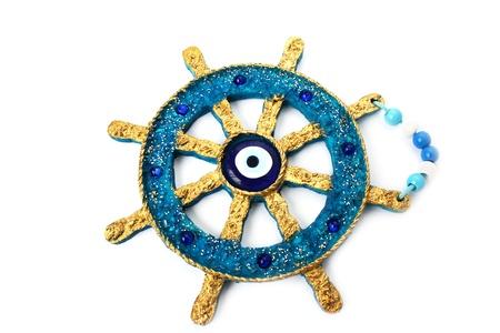 Anchor decoration isolated on white background. Stock Photo - 9818835