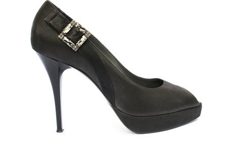 Womanish shoe isolated on white background. Stock Photo - 10045902