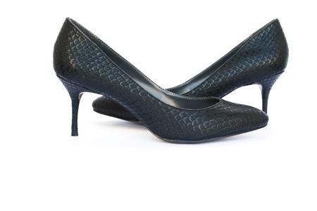 Womanish shoes isolated on white background. Stock Photo - 11137014