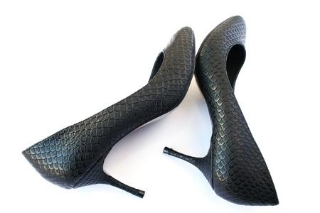Womanish stylish shoes isolated on white background. Stock Photo - 12235168