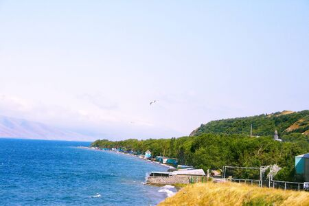 Sevan lake in Armenia  photo