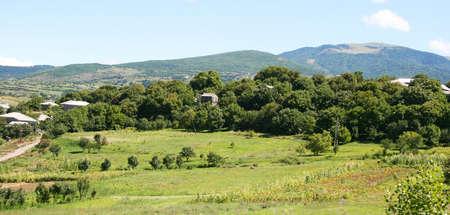 Mountain village in Georgia. Stock Photo - 13596394