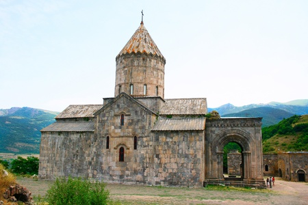 tatev: Tatev monastery in Armenia, the 9th century architecture.