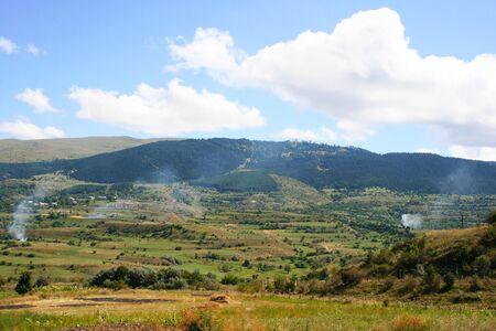 Mountain village in Georgia. Stock Photo - 13694122