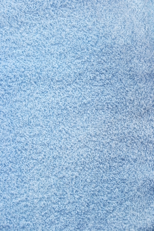Blue towel texture as a background.