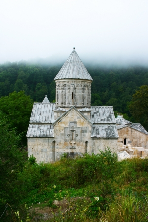The 13th century Haghartsin monastery  in Armenia. photo