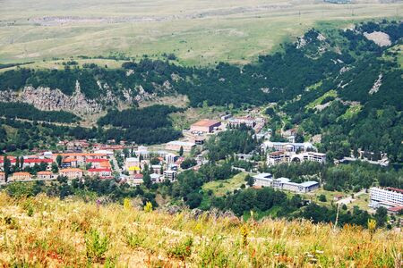 Landscape in Armenian mountain city Jermuk Stock Photo - 13930331