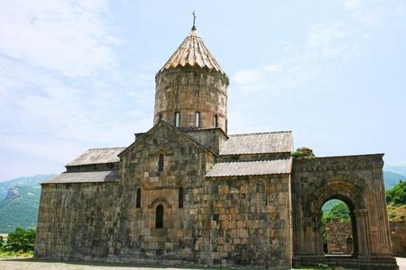Tatev monastery in Armenia, the 9th century architecture  photo