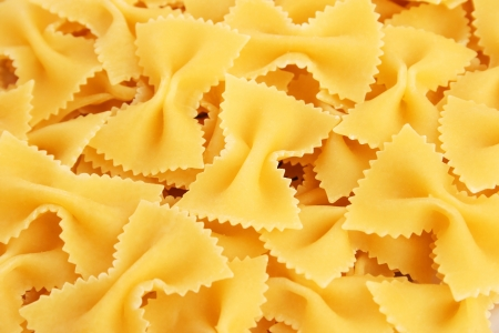 Italian pasta closeup picture as a background. photo
