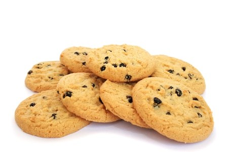 Cookies  isolated on white background. photo