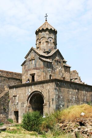 Tatev monastery in Armenia, the 9th century architecture. photo