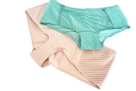 Stylish panties isolated on white background. Stock Photo - 14110894